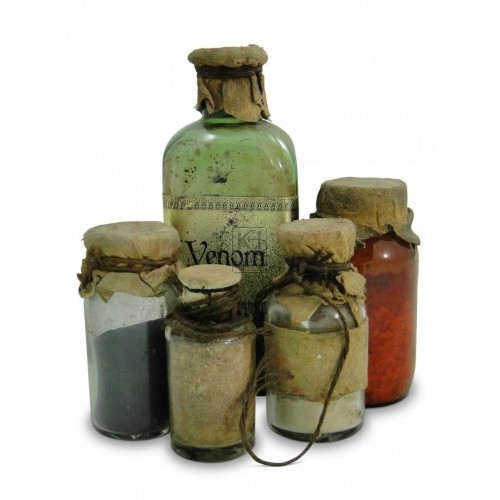 Assorted medicine bottles