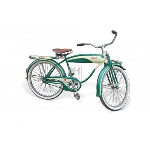 Green & Cream American 1930s bicycle
