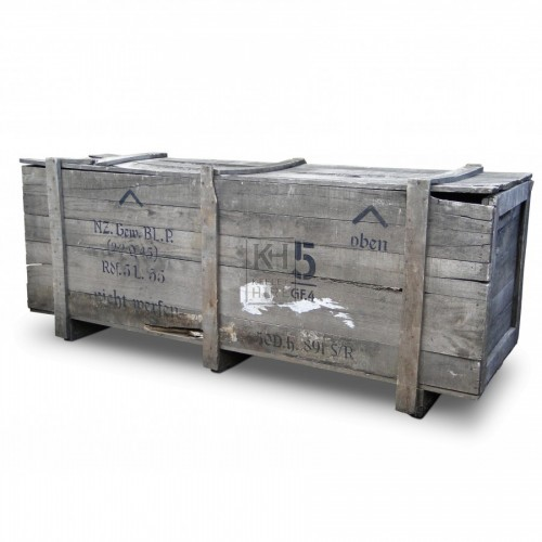 Rectangle Wood Packing Crate