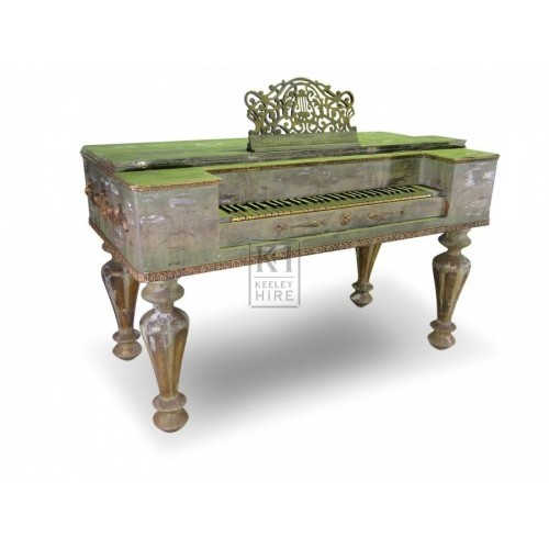 Classical green Piano