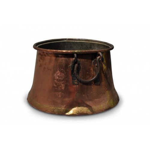 Large Copper Cauldron #1