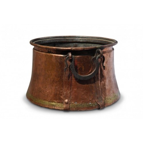 Large Copper Cauldron #2