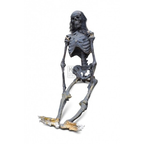 Figure - Skeleton with Hair