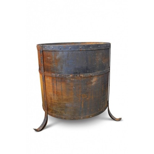 Large Barrel Brazier