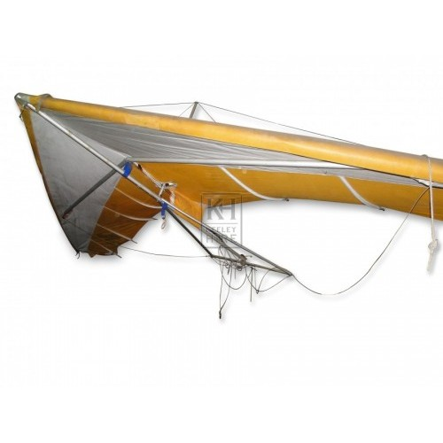 Yellow Hang Glider