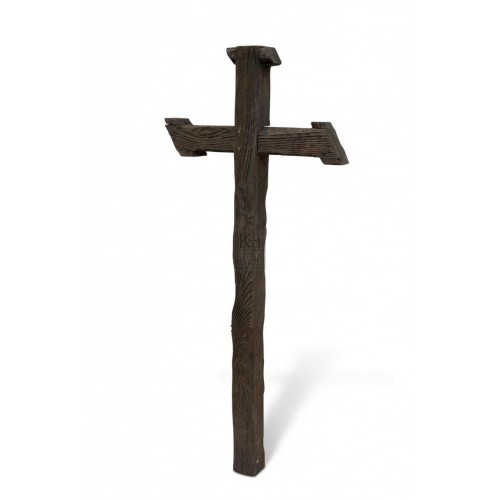 Wooden Cross - Rustic