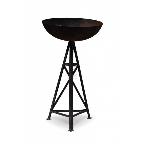 Brazier on tripod