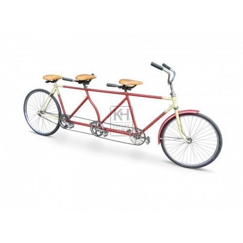 Three Seater Bicycle