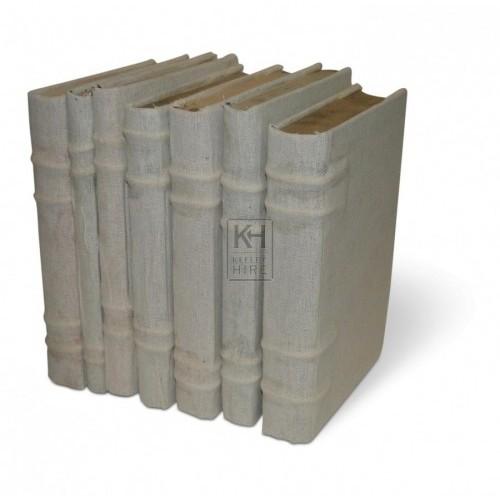 Linen Covered Hardback Books