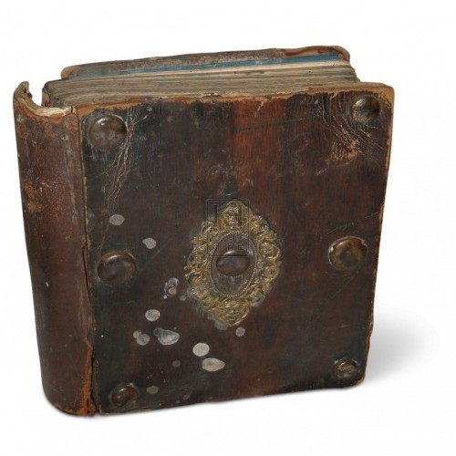 Studded Leatherbound Book