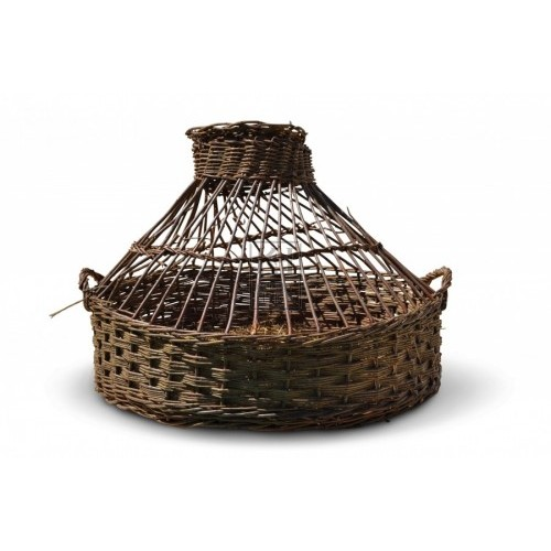 Woven Wicker Cage