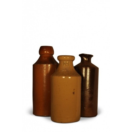 Assorted Stoneware Bottles