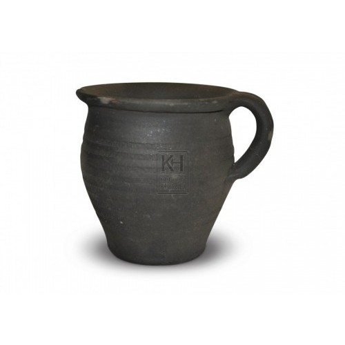 Dark Clay Jug