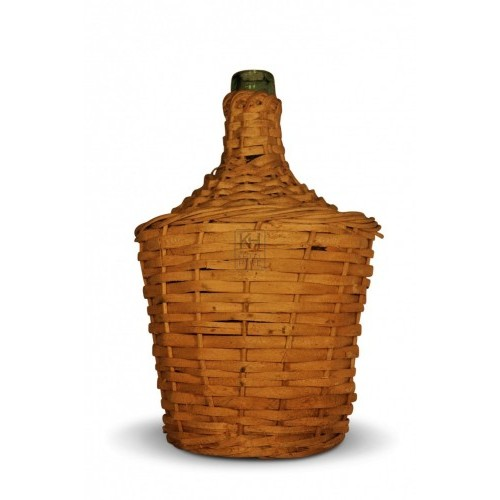 Wicker Wrapped Bottle