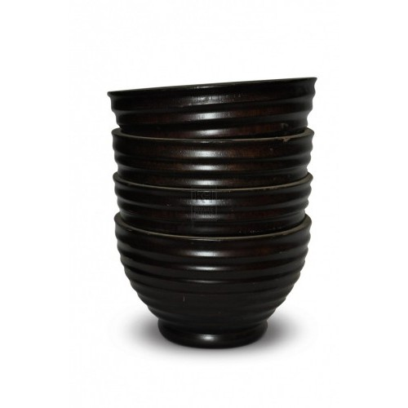Dark Wooden Bowls