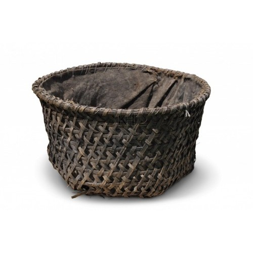 Hessian Lined Basket