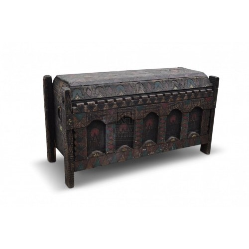 Large Carved Chest