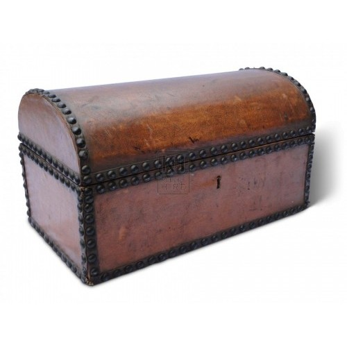 Small Studded Leather Chest