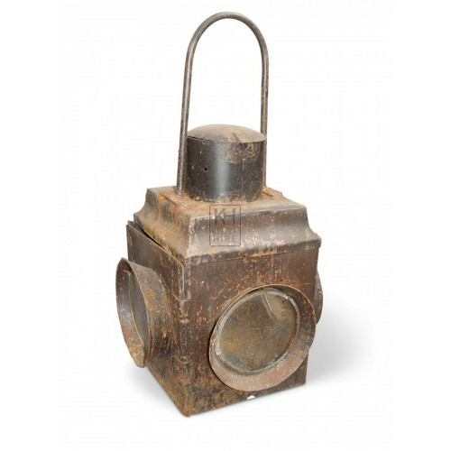 Square Miners Lantern