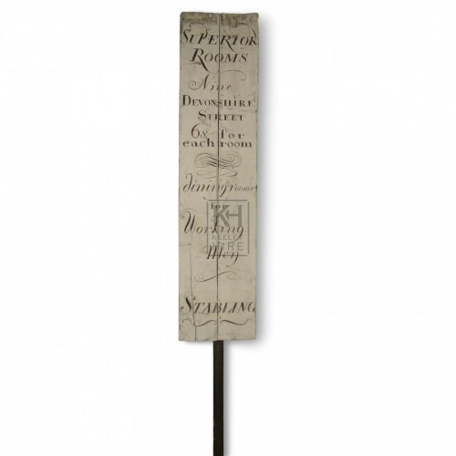 Superior Rooms Pole Sign