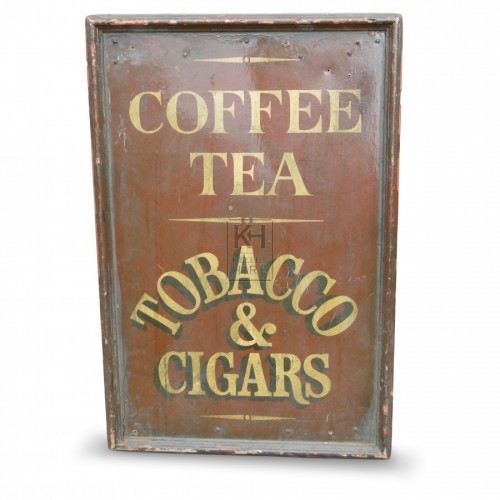Coffee & Tea Sign