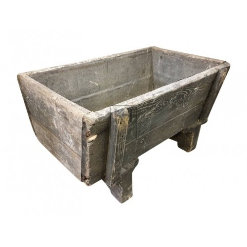 Wooden Trough and Pump
