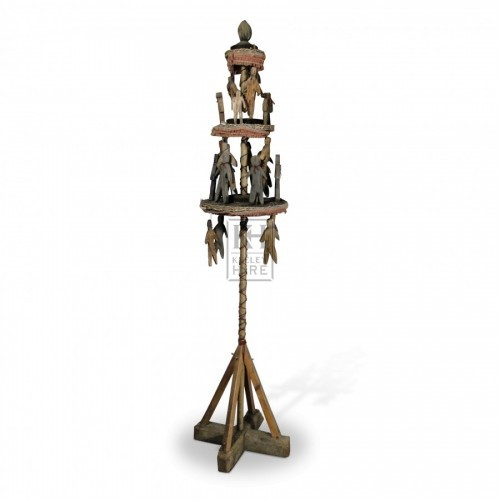 Wooden Hanged Man Stand