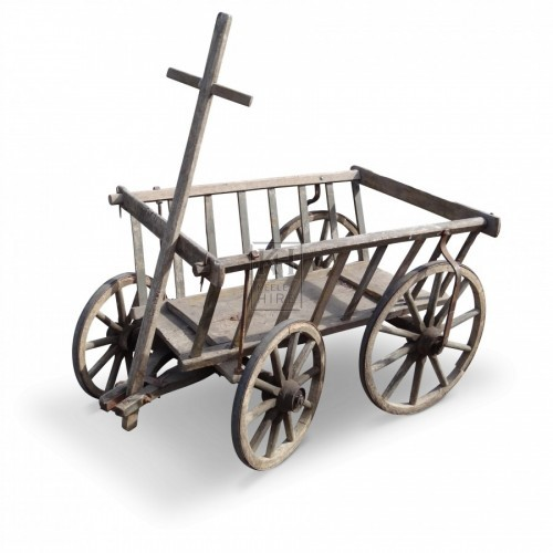Wooden Dog Cart