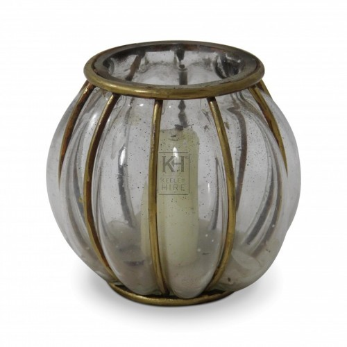Glass Globe Candle Lantern