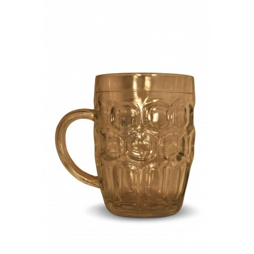 Glass Pint Tankard