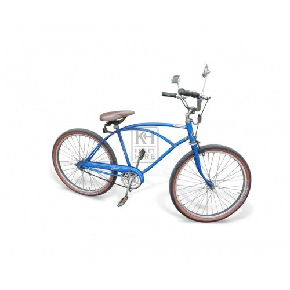 Blue American Bicycle