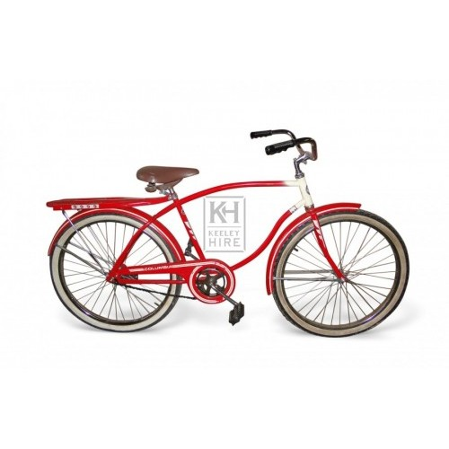 Red Columbia Bicycle