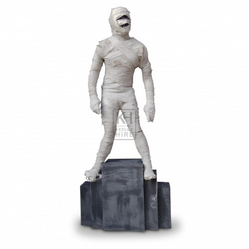 Mummy Figure on Stand