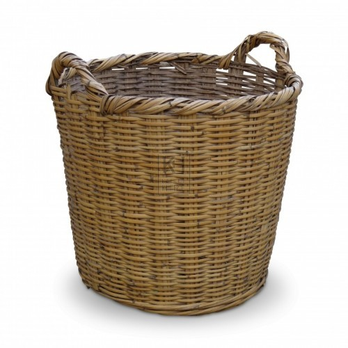 Large Wicker Basket #1