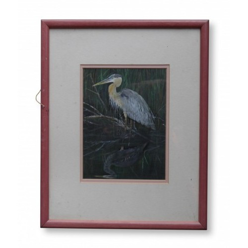 Heron Bird Painting