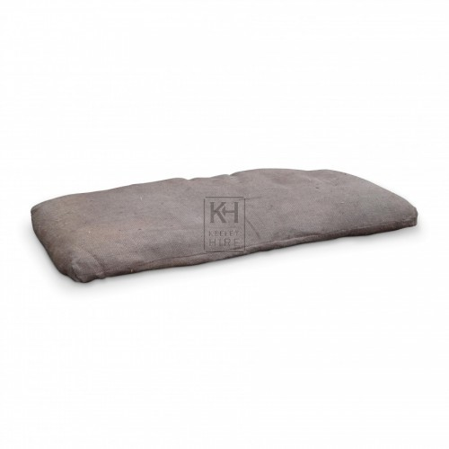 Straw Filled Hessian Palliasse Mattress