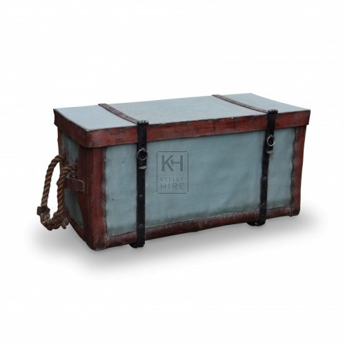 Painted Rectangular Trunk Chest