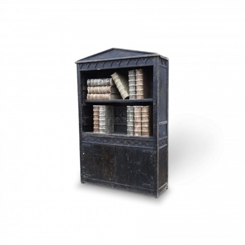 Large Dark Wooden Bookshelf