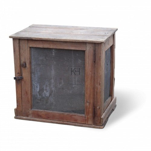 Plain Wooden Meat Safe