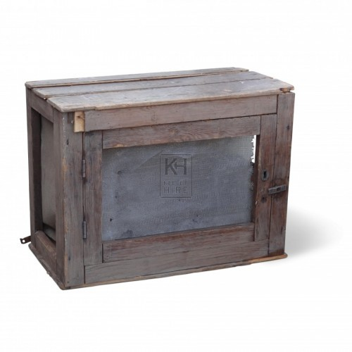 Wide Wooden Meat Safe