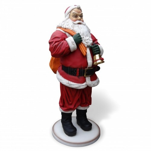6ft Father Christmas Figure