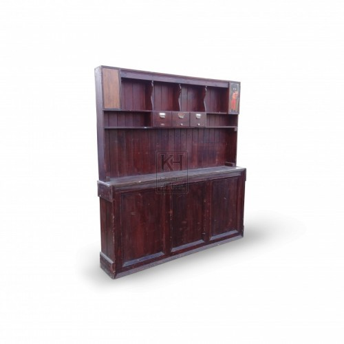 Large Wooden Dresser Unit