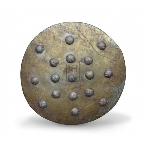Round Brass Shield