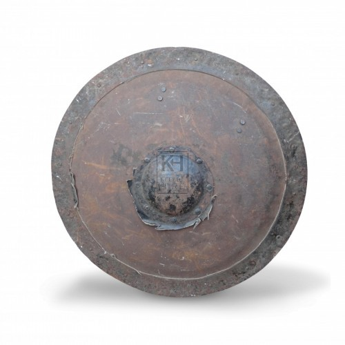 Round Shield with Boss