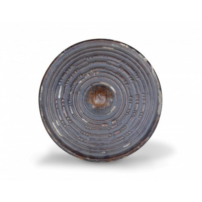 Small Round Ribbed Shield