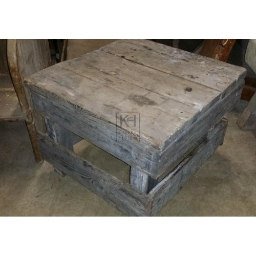 Small Rectangle Wooden Table