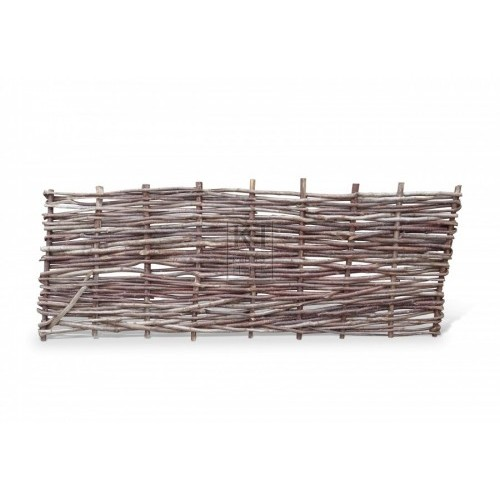 Small Wattle Fence Panel