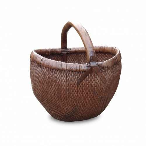 Deep Rounded Hand Basket