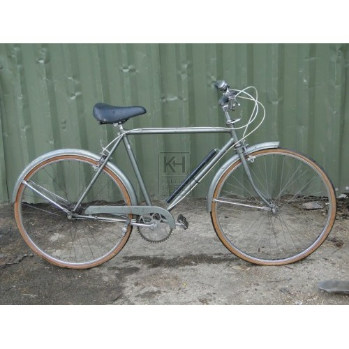 Silver Bicycle