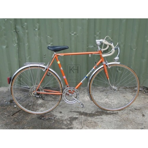 Orange Racing Bicycle